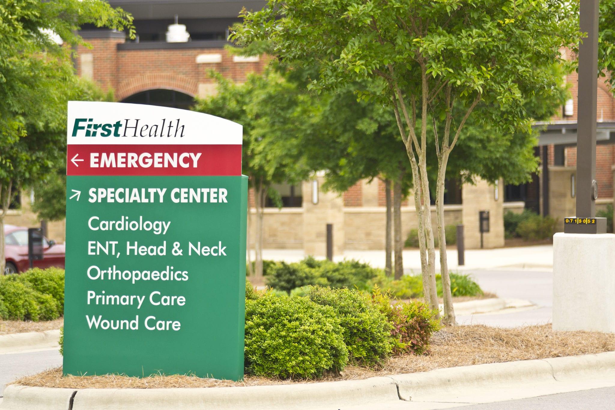 FirstHealth Of The Carolinas ⋆ Poblocki Sign Company LLC