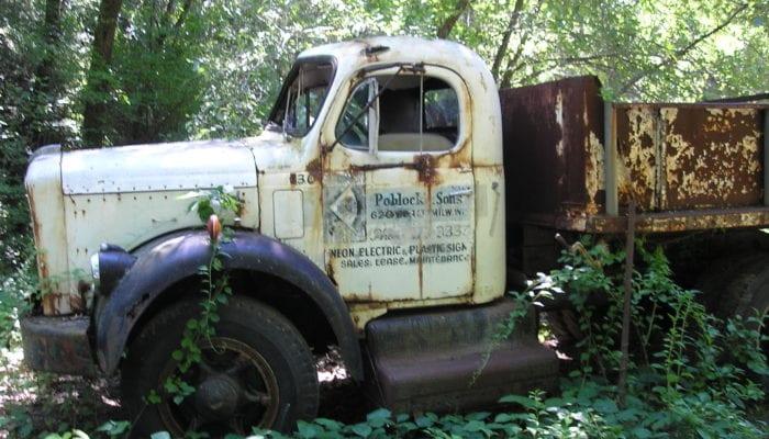 Historical Poblocki truck