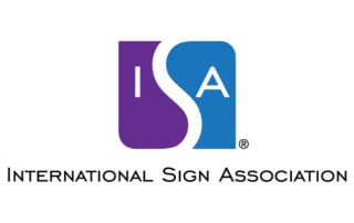 International Sign Association logo