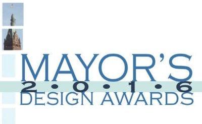 Mayor design awards logo