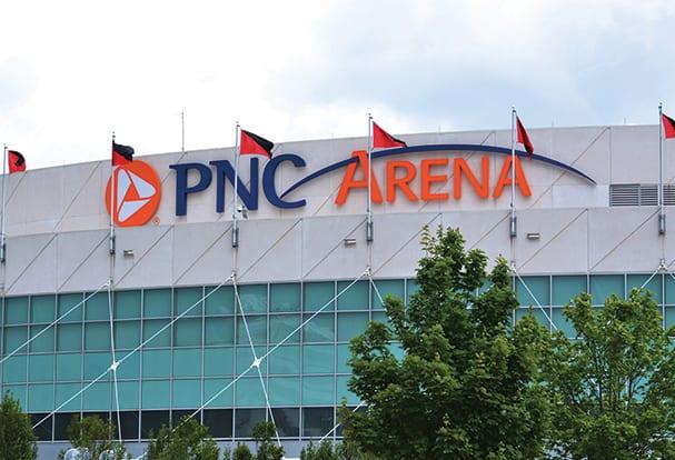 PNC Arena ⋆ Poblocki Sign Company LLC