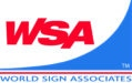 World Sign Associates (WSA) logo