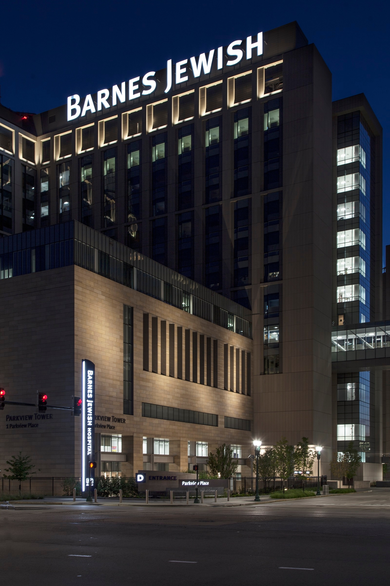 Barnes-Jewish Hospital ⋆ Poblocki Sign Company LLC