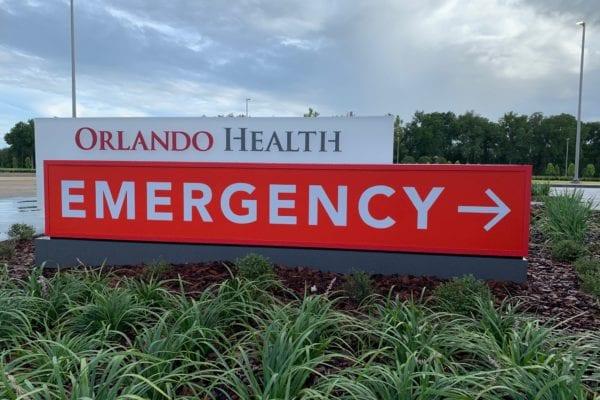 Orlando Health signage