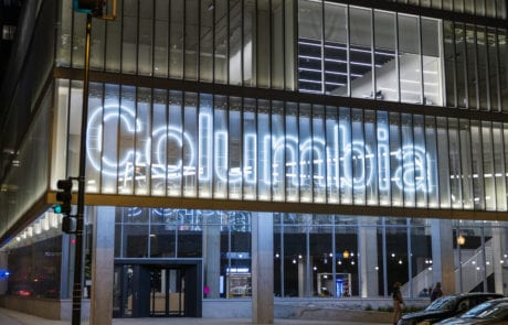 Columbia College sign