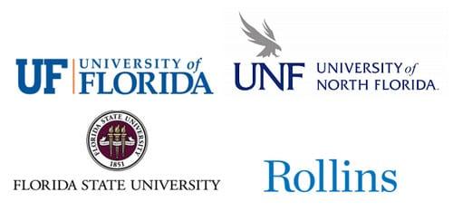 Florida University logos